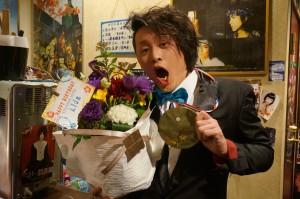 Lidaくん、Happy Birthday! お花と金メダルが、似合ってます!