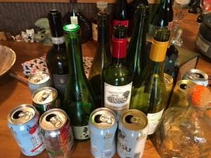これ以外に、まだビールの空き缶が一山ありました(笑)。