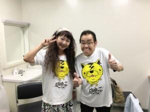 星子さんとツーショット☆ ヴィジュアル系への愛とバイタリティは、ホントにすごい方です。
