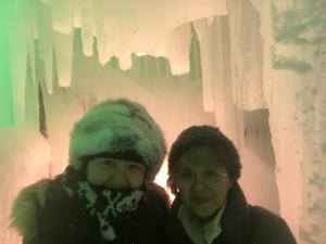 寒いのが大嫌いなはずなのに、なぜか冬の北海道にハマっている2人。