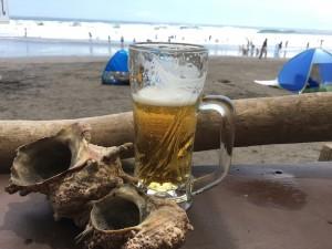 ここでビールを飲むのが、夏の一番の楽しみ☆
