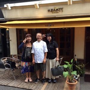 佐藤シェフ、おいしい料理をありがとう。