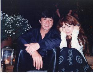 西城秀樹さんと、LAのホテルにて。